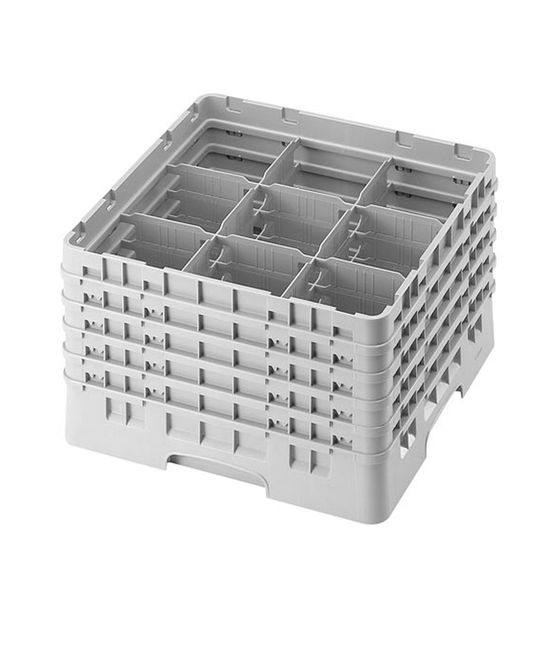 9 Compartment Washcrates with 5 Extender