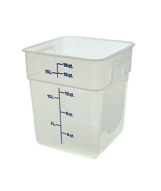 Food Container 17.2 Litre Translucent