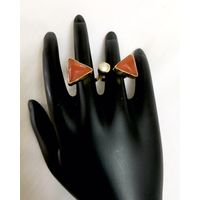 Dual finger ring for women - RG057