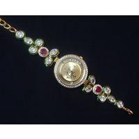 Beautiful Kundan watch- WT002