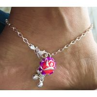 92.5 Sterling Silver anklet for women - AK037