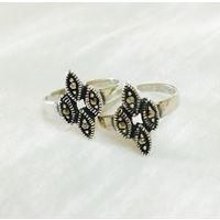 92.5 Sterlin silver Toe ring/Bichua-BC060