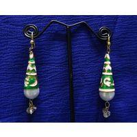 Meenakari earrings-ME083