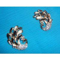 Peacock fashion earrings-ME068