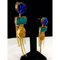 Smart Indo western earrings- EG257