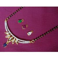 Changeable stone mangalsutra-MG023