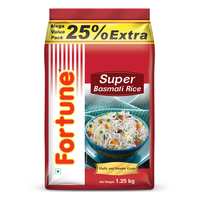 Fortune Super Basmati Rice (25% Extra), 1 kg