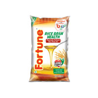 Fortune Rice Bran Health Oil, 1 lt, pouch
