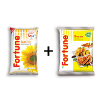 Combo of Sunflower Oil 1 lt pouch+ Besan 500 gm pouch