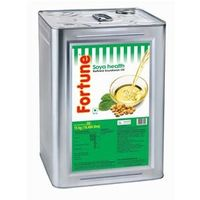Fortune Soya Health Oil, 15 kg, tin