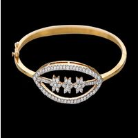 Diamond Bracelet, 18k 16.15gms, e/f-vvs1 1.50 ct