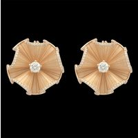 Diamond Earrings, 1.1cts, 18k 8.50gms, e/f-vvs