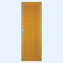 Plank brown Indiana Doors, 30 mm, 6.75x2.25  feet