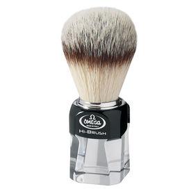 Omega 40634 HI-BRUSH 100% Synthetic Badger Imitation fiber shaving brush