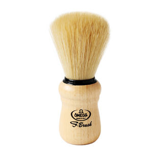 Omega S10005 S-Brush Synthetic Boar Shaving Brush