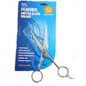 Feather Switch Blade Professional Shears/Scissors 6.5