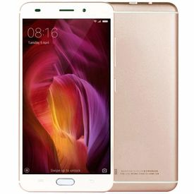 Meigu Model LEKE-4G (Finger Print Sensor) 32GB Internal Memory with 3GB RAM and Reliance Jio 4G Sim Support in Gold Colour