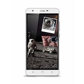 """Nuu X5 4G Volte Smartphone with 3GB RAM 32GB ROM 5.5"""" Touchscreen HD Display and Finger Print Sensor (Jio 4G Support) in Silver Colour"""