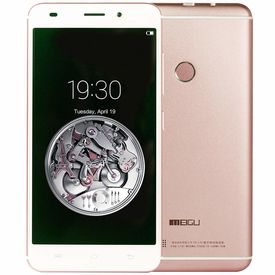 Meigu Model M7 5.5 Inch (Finger Print Sensor) 32 GB with 2 GB RAM and Reliance Jio 4G Sim Support in Rosegold Colour
