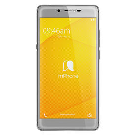 Mphone 7 Plus (Finger Print Sensor) 4GB RAM Model with 5.5-inch 1080p display, Octa-Core, 4GB RAM (Reliance Jio 4G Sim Support) 64 GB Internal Memory and 16 Mpix /13 Mpix Hd VoLTE Smartphone in Grey Colour