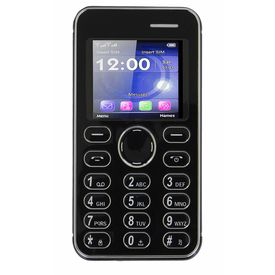 Kechaoda K116 Mini Mobile With Bluetooth Connectivity in Black Colour
