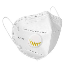 Maplin KN95 Washable & Reusable With Respirator 10 Pcs Set With Meltblown Filter and Respirator Mask in white Colour