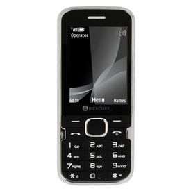 Mercury F37 Heavy Battery Dual Sim Mobile Phone in black colour