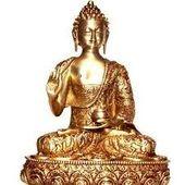 Buddha, brass