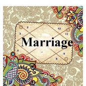 Marriage Horoscope! Soulmate and Spouse Search, pink paper, 1
