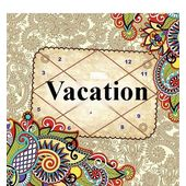 Vacation Horoscope!, pink paper, 1