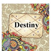 Destiny Horoscope, pink paper