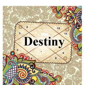 Destiny Horoscope, pink paper