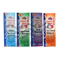 Ocean Free Fh - 150 Milli Litre Flower Horn Treatment (Pack of Four 150 Milli Litre Each)