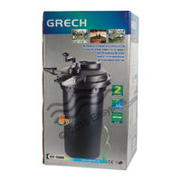 SunSun Grech CPF - 15000 Pond Filter With UV