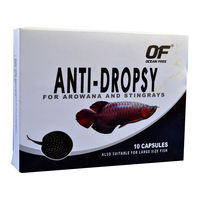 OCEAN FREE ANTI-DROPSY FOR AROWANA AND STINGRAYS - (10 CAPSULES)