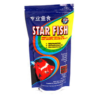 Star Fish - Fish Food (100 Grams) (Pack of 2) , 1 mm, 1 mm