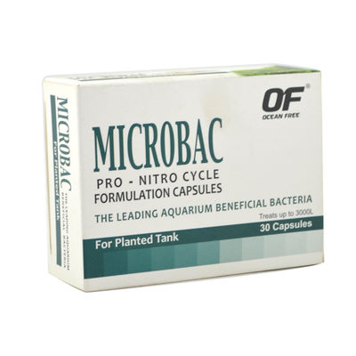 Ocean Free Microbac Formulated Capsules For Planted Tank