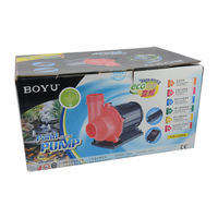 BOYU Pond Pump TJB-12000S