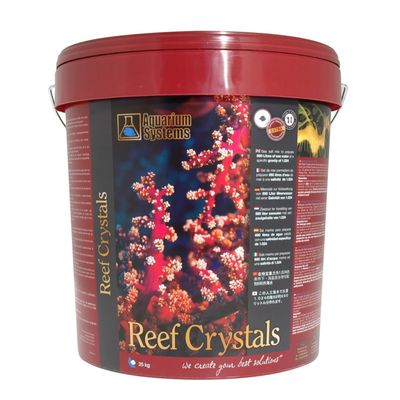 Aquarium Systems Reef Crystals Marine Salt (25 Kilograms)