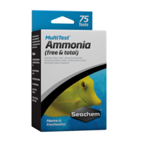 Seachem Multi Test Ammonia 75 TESTS