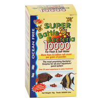 Ocean Free Super Battle Bacteria 10000 Water Treatment (10 Grams)