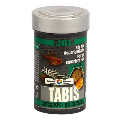 JBL Tabis Fish Food (160 tablets) - Food Tablets for Tropical Fish