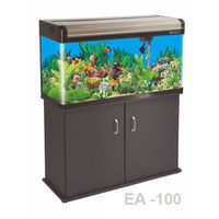 Boyu Aquarium Fish Tank EA-100, tank with cabinet