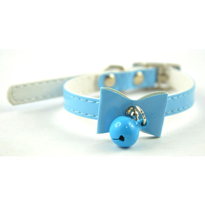 Easypets Cat collar with buckle and bell (Blue)