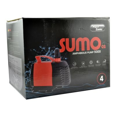 AQUAZONIC SUMO- G2 4 AMPHIBIA PUMP 5000 - 100W
