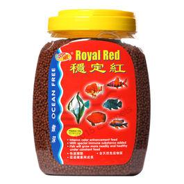 Ocean Free Royal Red Fish Food (1.2 Kilogram) , 1 mm, 1 mm
