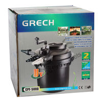 SunSun Grech CPF - 5000 Pond Filter With UV