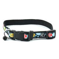 Easypets STELLAR Dog Colar with Bell (Black)