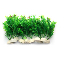 Champion Plastic Decoration Plant 4 Inches (Pack of 10)