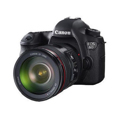 DUMMY-Canon EOS 6D kit (EF 24-105mm f/4L IS USM) DSLR, black